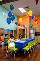 Ethan's 5th b'day party Sept 2014